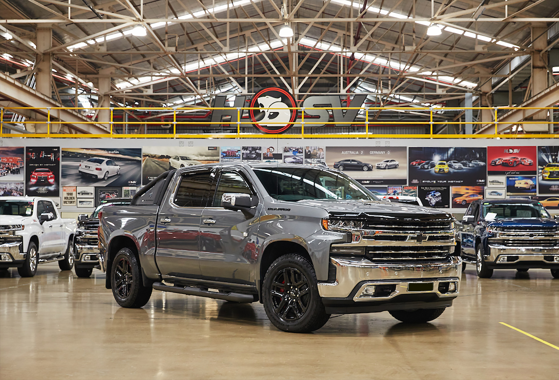 WAG will continue to re-manufacture the Chevrolet Silverado range at our Clayton, Victoria premises.